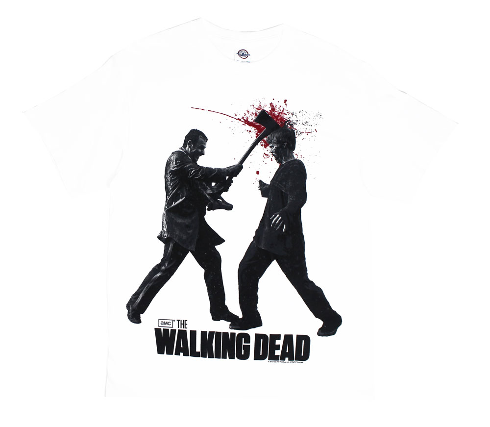 Axe To The Head - Walking Dead T-shirt