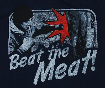 Beat The Meat - Rocky Sheer T-shirt
