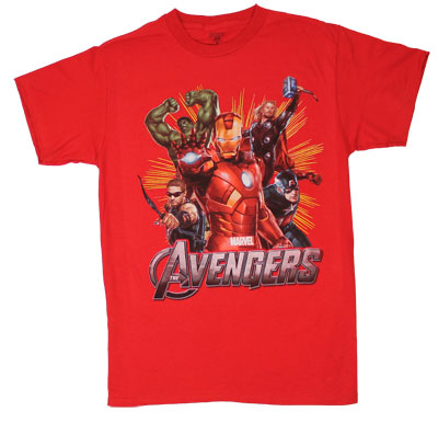 Red Avengers - Avengers T-shirt