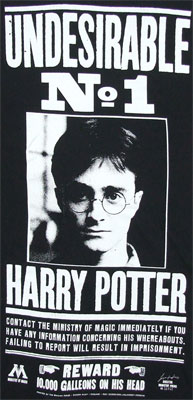 Undesirable No 1 - Harry Potter T-shirt