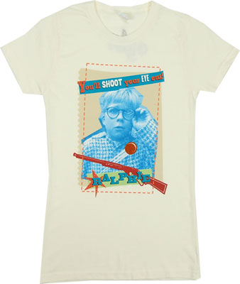 You&#039;ll Shoot Your Eye Out - A Christmas Story Sheer Women&#039;s T-shirt