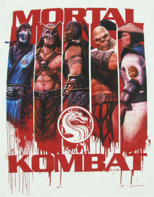 Player Panels - Mortal Kombat T-shirt