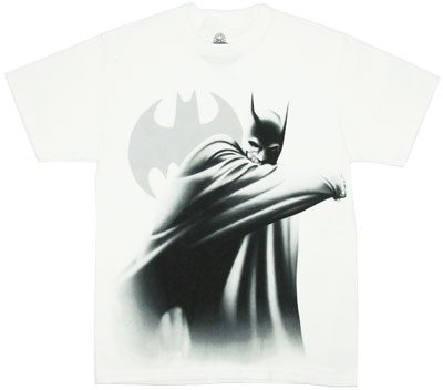 Batman Whiteout - Batman Arkham City T-shirt