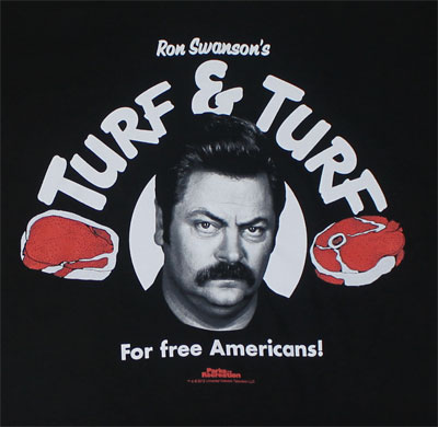 Turf And Turf - Parks And Recreation T-shirt