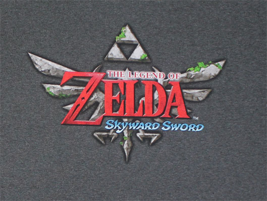 Skyward Sword Logo - Nintendo T-shirt