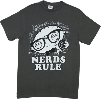 Nerds Rule - Stewie - Family Guy T-shirt