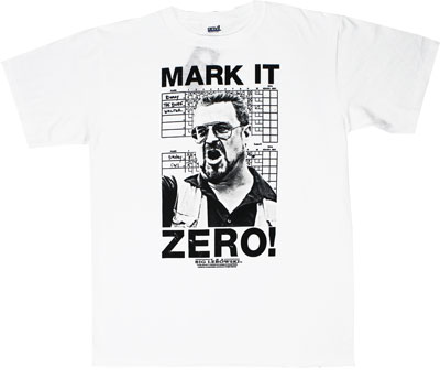 Mark It Zero - Big Lebowski T-shirt