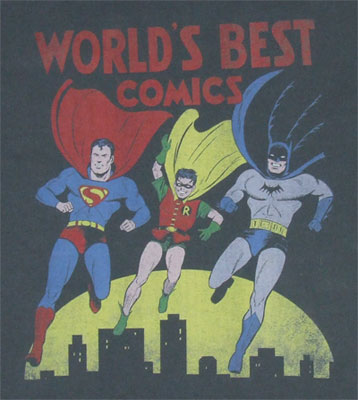 World's Best Comics - DC Comics T-shirt