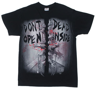Don&#039;t Open Dead Inside - Walking Dead T-shirt