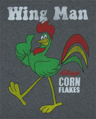 Wing Man - Corn Flakes T-shirt