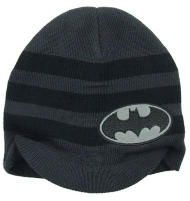 Batman Logo - DC Comics Billed Knit Hat
