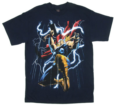Reining Thor - Marvel Comics T-shirt