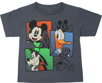 Three Panels - Disney Juvenile T-shirt