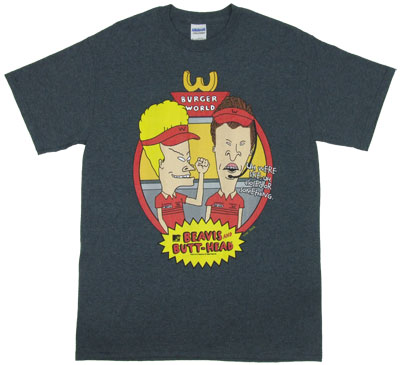 We're Closed - Beavis And Butthead T-shirt