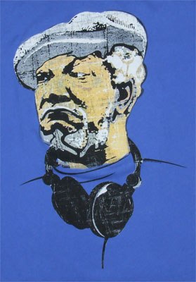 Fred With Headphones - Sanford And Son Sheer T-shirt