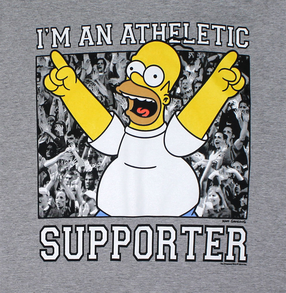 Athletic Supporter - Simpsons T-shirt