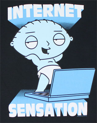 Internet Sensation - Family Guy T-shirt