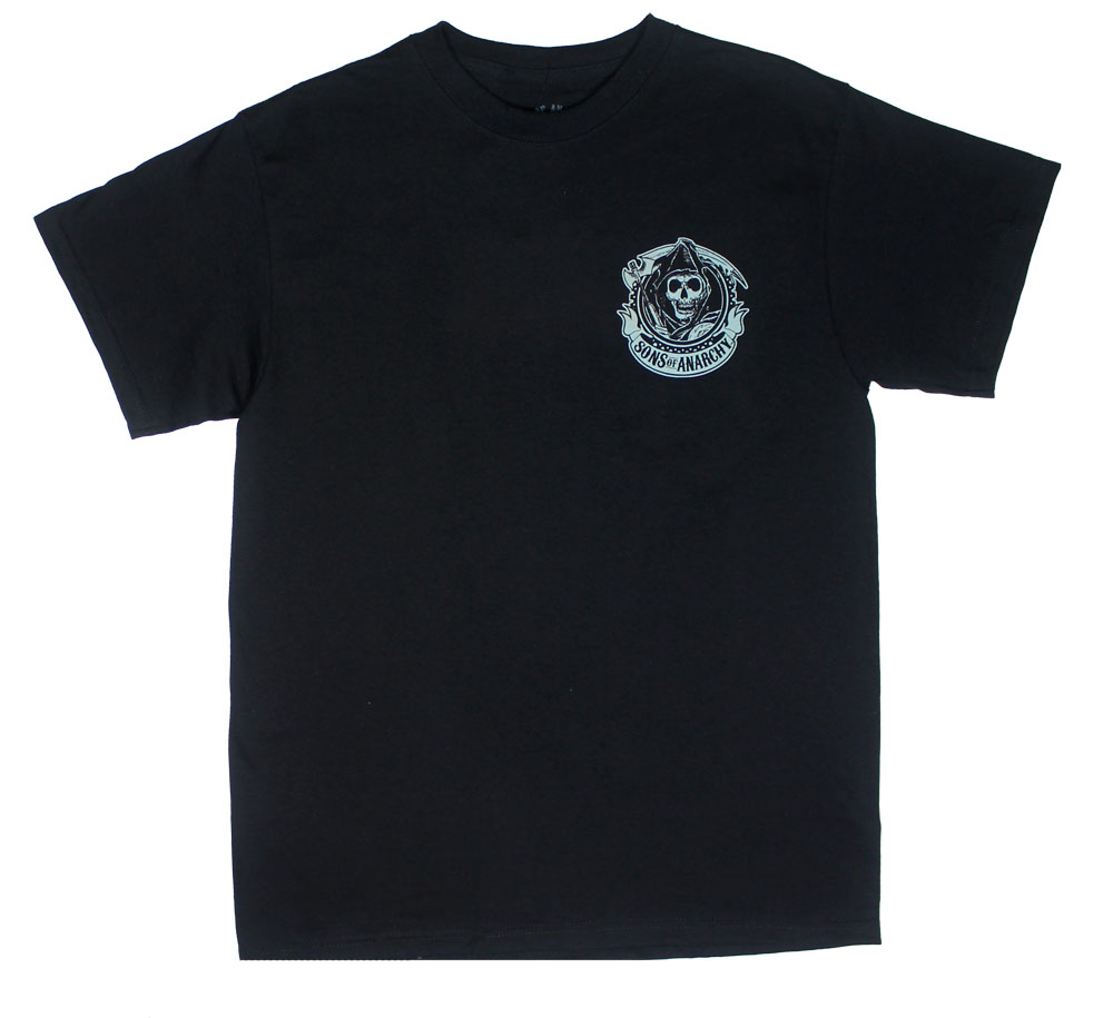 Chest Logo - Sons Of Anarchy T-shirt