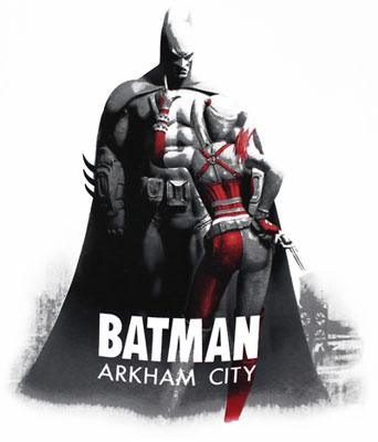 Pointing At Bats - Batman Arkham City T-shirt
