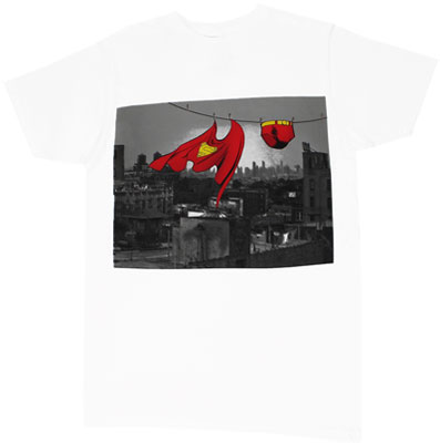 Dirty Laundry - Superman - DC Comics Sheer T-shirt