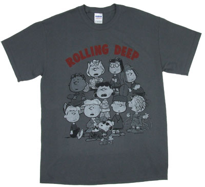 Rolling Deep - Peanuts T-shirt