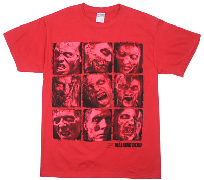 Boxed Walkers - Walking Dead T-shirt
