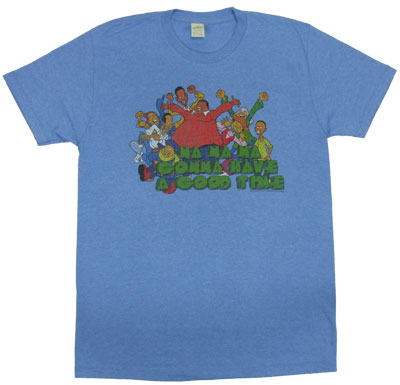 Gonna Have A Good Time - Fat Albert Sheer T-shirt