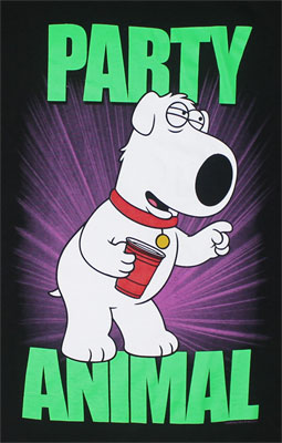 Party Animal - Family Guy T-shirt