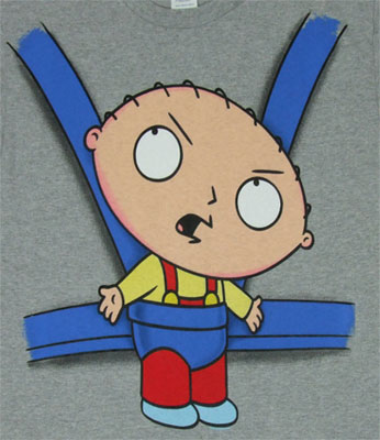 Stewie Baby Carrier - Family Guy T-shirt