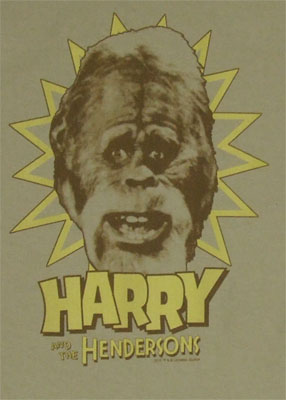 Harry And The Hendersons T-shirt