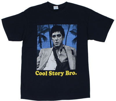 Cool Story Bro - Scarface T-shirt