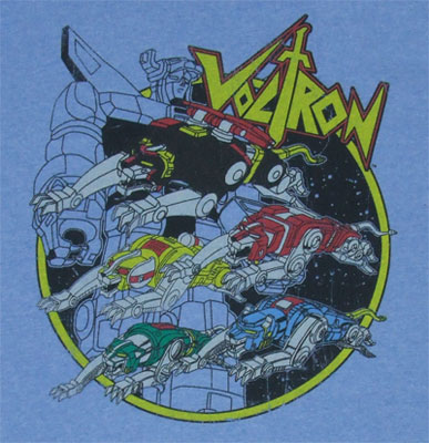 Attack - Voltron T-shirt