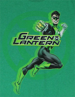 Lantern Punch - Green Lantern Sheer T-shirt