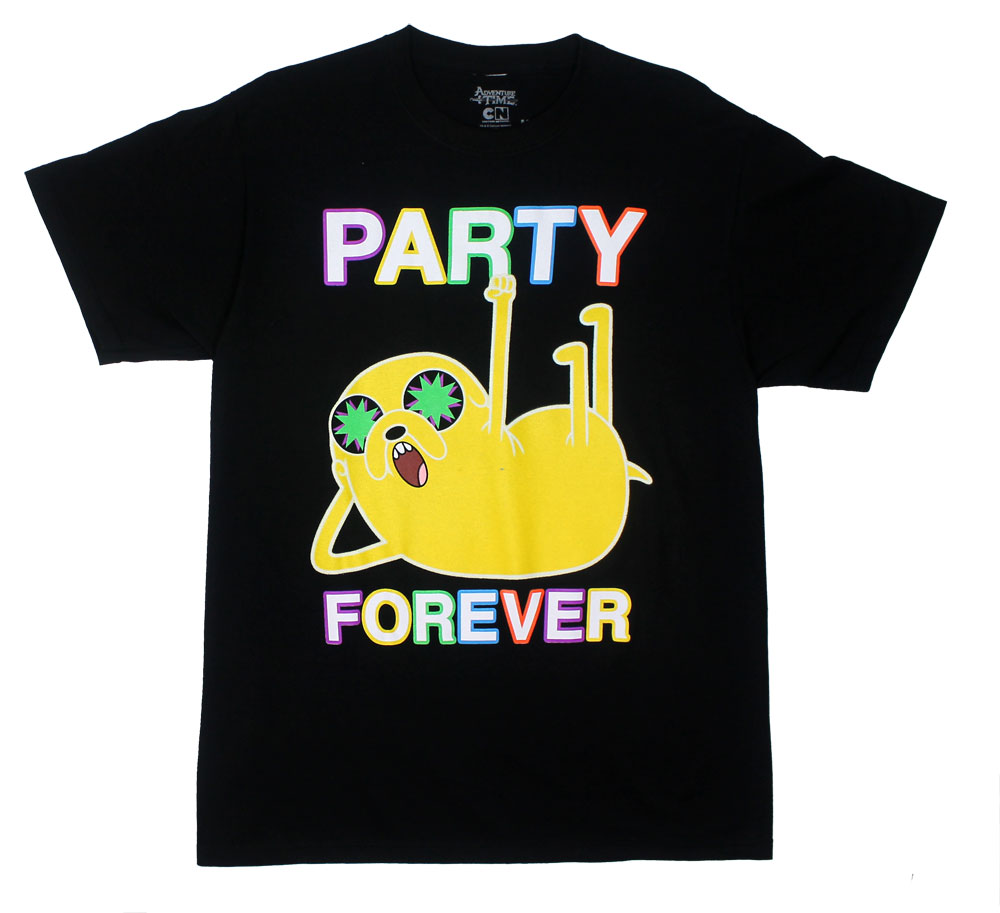 Party Forever - Adventure Time T-shirt