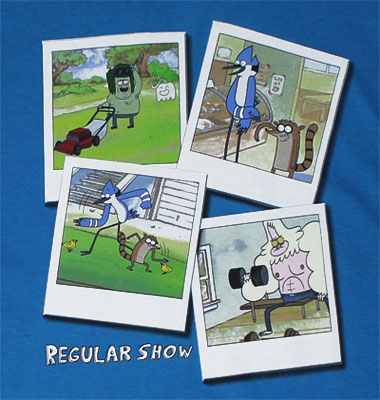 Snapshots - Regular Show Youth T-shirt