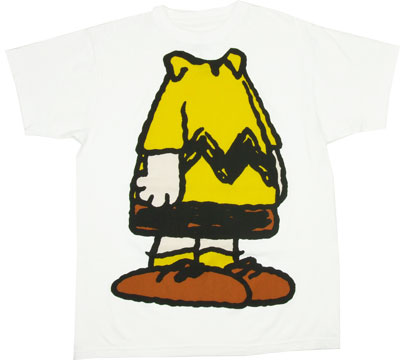 Charlie Brown Body - Peanuts T-shirt