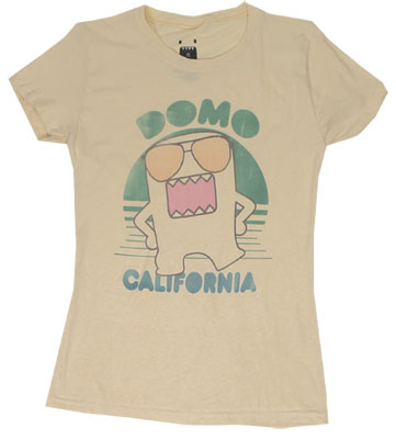 Domo California - Domo-Kun Sheer Women's T-shirt