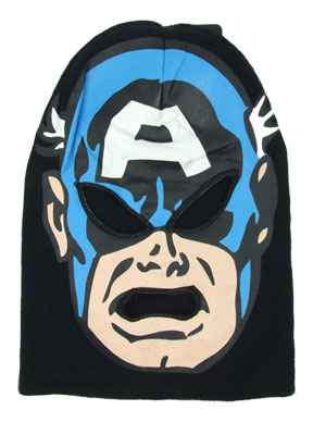 Captain America - Marvel Comics Ski Mask