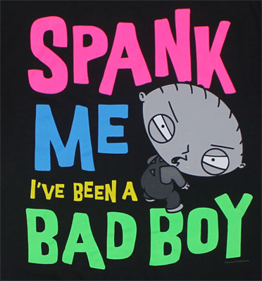 Neon Spank - Family Guy T-shirt