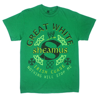 Great White Sheamus - WWE T-shirt