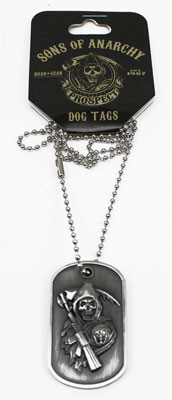 Sons Of Anarchy Dog Tags