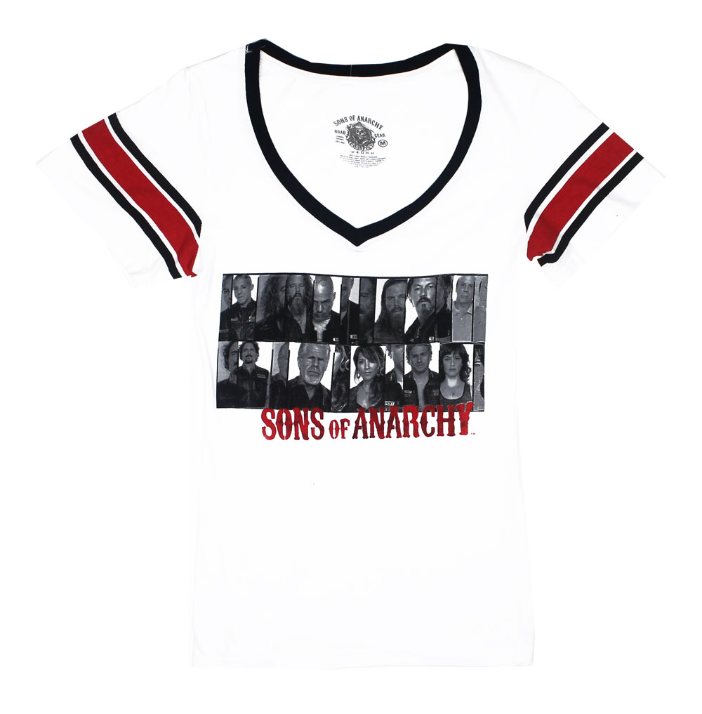 Group Photo Shoot - Sons Of Anarchy Juniors T-shirt