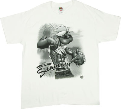 This Is My Situation - Popeye T-shirt