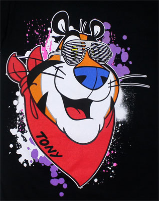 Tony With Shutters - Frosted Flakes T-shirt