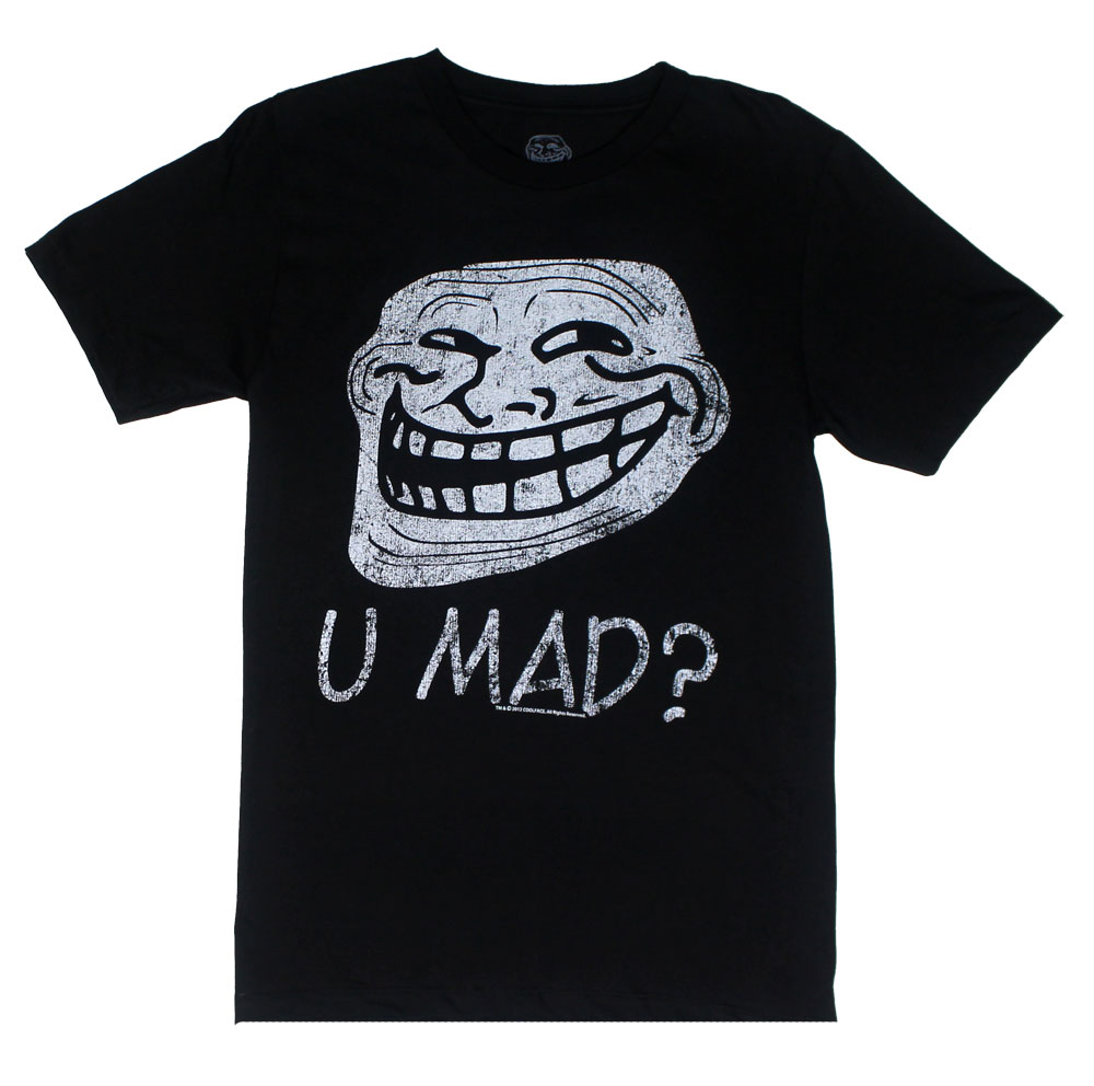 U Mad? - You Mad? Sheer T-shirt