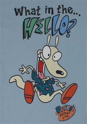 What In The... - Rocko's Modern Life Sheer Women's T-shirt