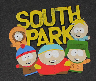 Old School - South Park T-shirt