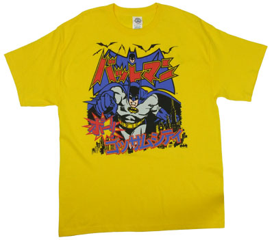 J-Pop Batman - DC Comics T-shirt