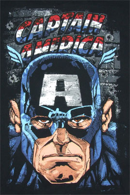 Battle Tested - Captain America - Marvel Comics T-shirt