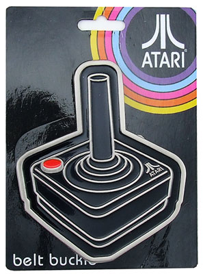 Joystick - Atari Belt Buckle